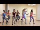 Little Dancehall Routine by Melissa and students (Murmansk)